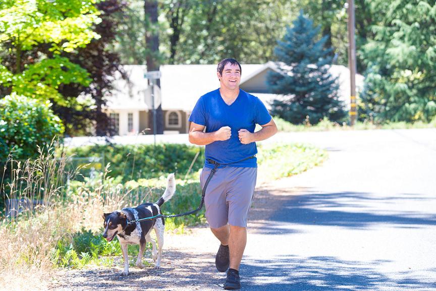 hands free dog leash